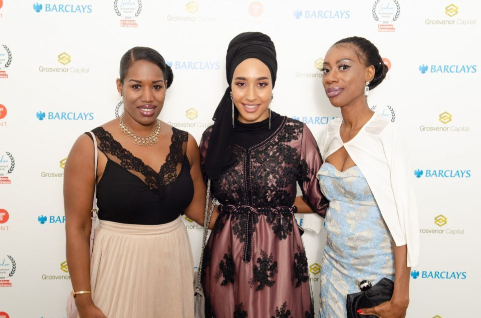Muslim police chief, female FA member and hijab-wearing model among top winners at the debut Arabian Business London Awards