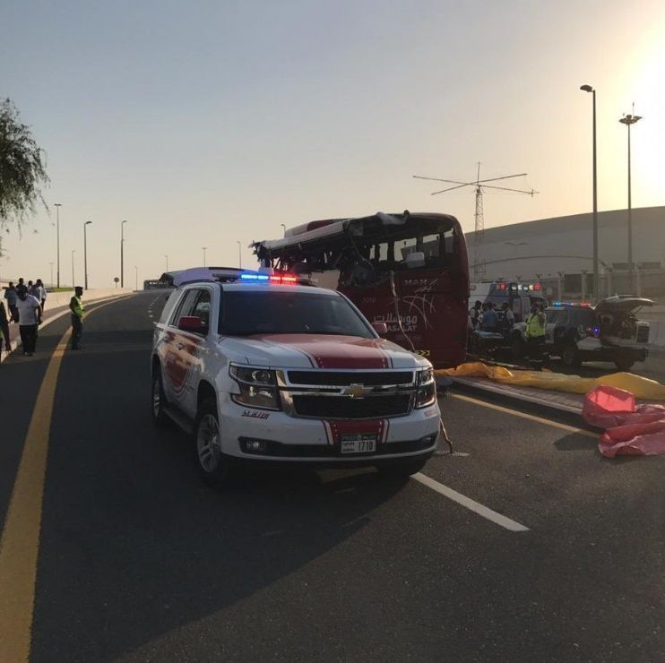 Barrier in deadly Dubai bus crash violated GCC regulations, lawyer claims