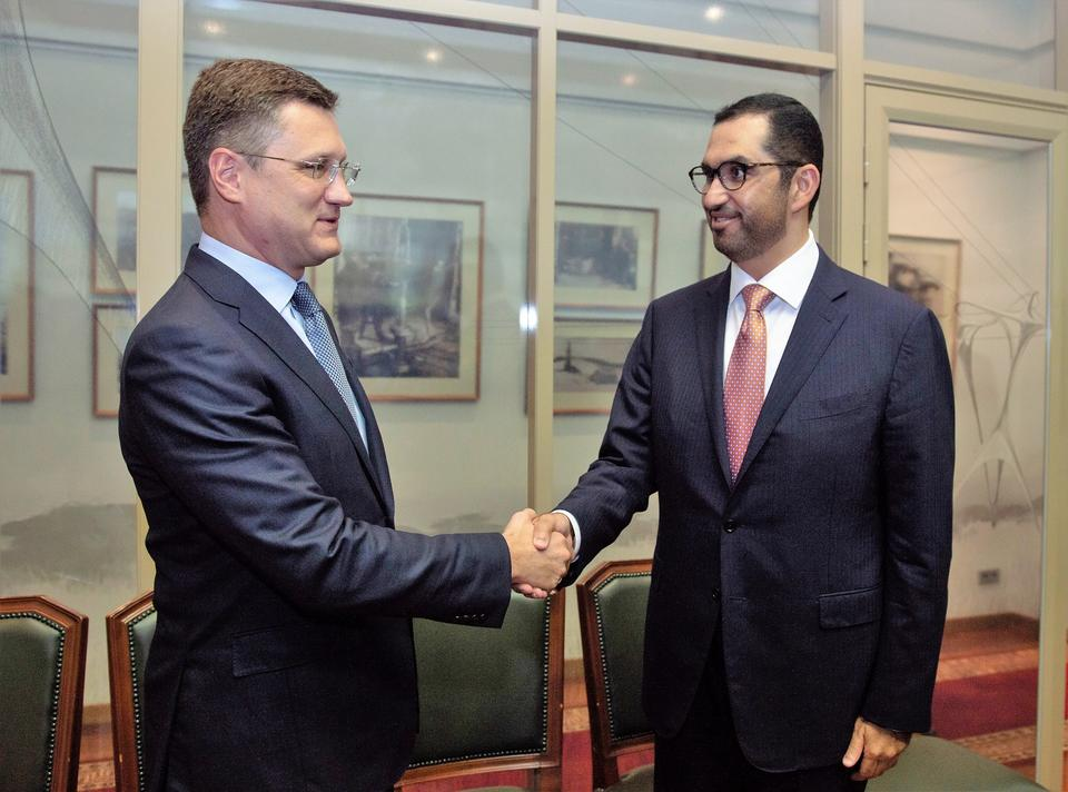 Russia, UAE's ADNOC discuss 'promising' cooperation on LNG