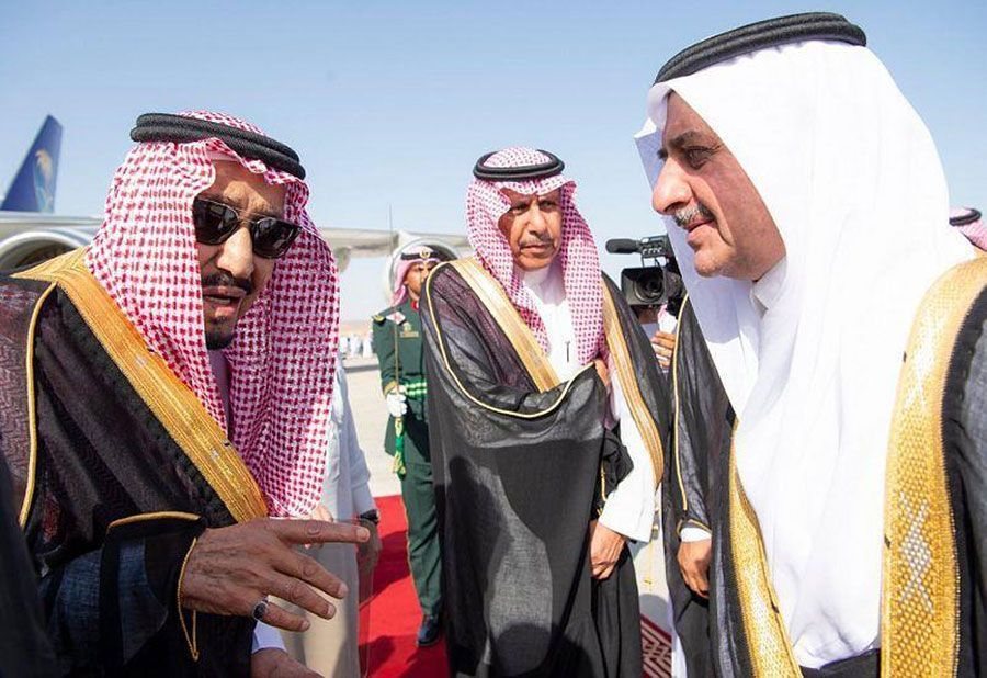 Gallery: Saudi Arabia's King Salman arrives in mega city NEOM