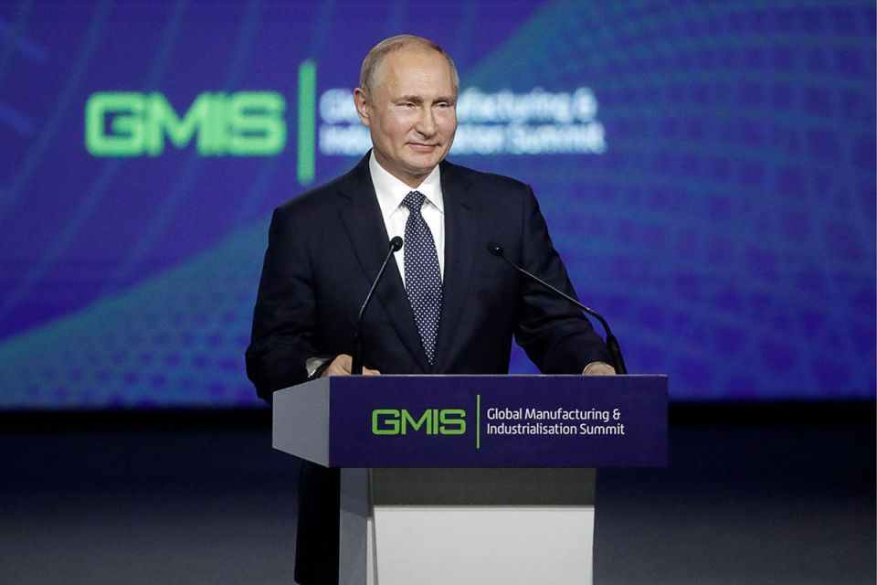 Global Manufacturing and Industrialisation Summit announces new global initiative in response to president Putin's call for action