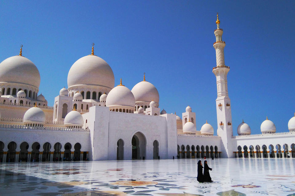 Over 115,000 people visited Sheikh Zayed Grand Mosque during Eid Al Adha