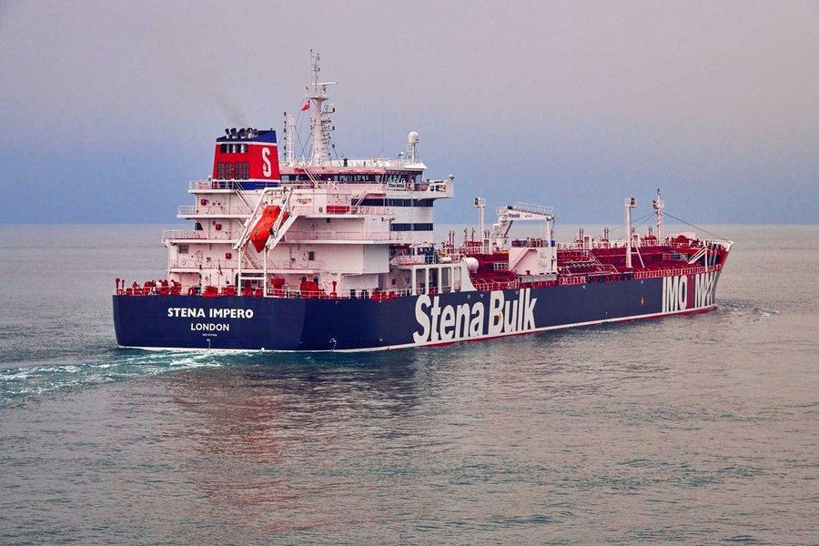 British-flagged tanker docks in Dubai after Iran release