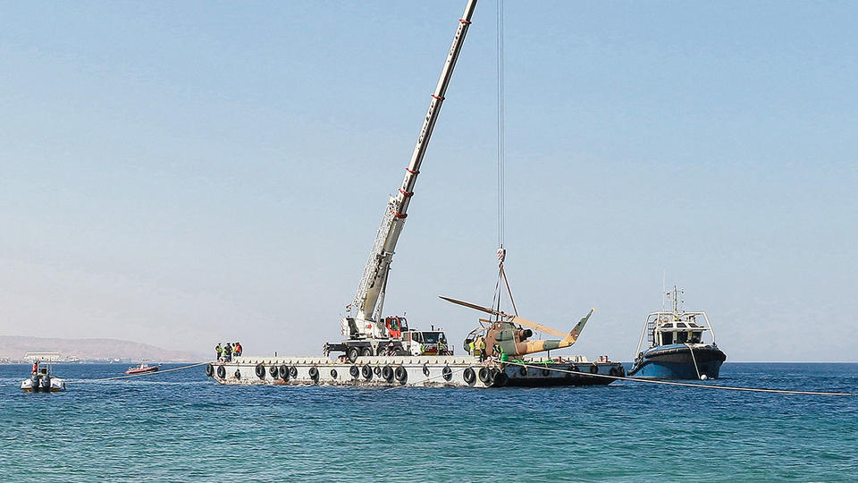 Gallery: Jordan's first underwater military museum off its Red Sea coast