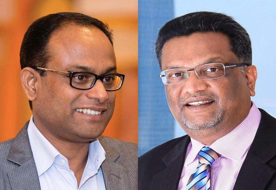 Raju Ramesh and Sunil Paul