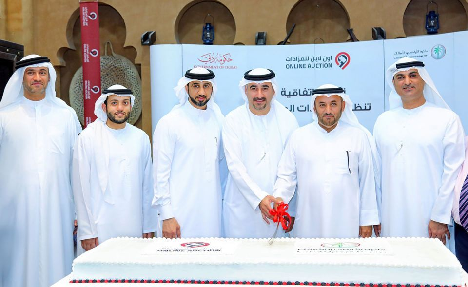 Dubai Land Department signs deal with online auctions firm