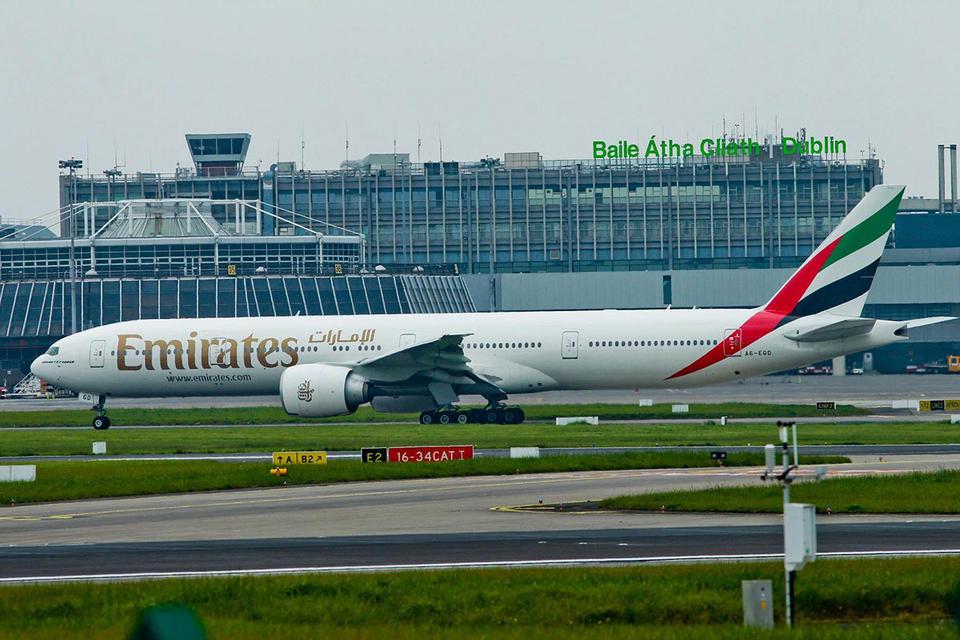 Emirates to add third Dublin flight if airport upgrades terminal
