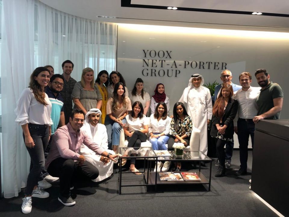 Alabbar opens Net-a-Porter's first Middle East offices