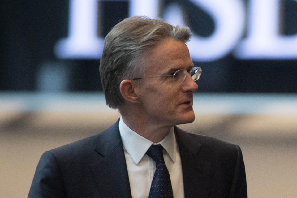 HSBC says CEO Flint steps down as it faces 'challenging' geopolitics