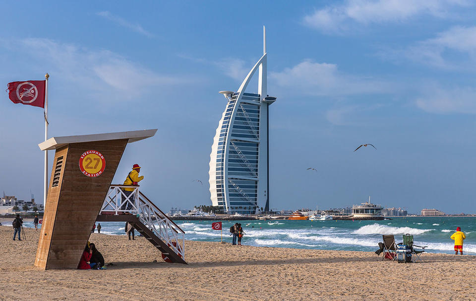 Dubai Police issue warning to beach goers over privacy laws