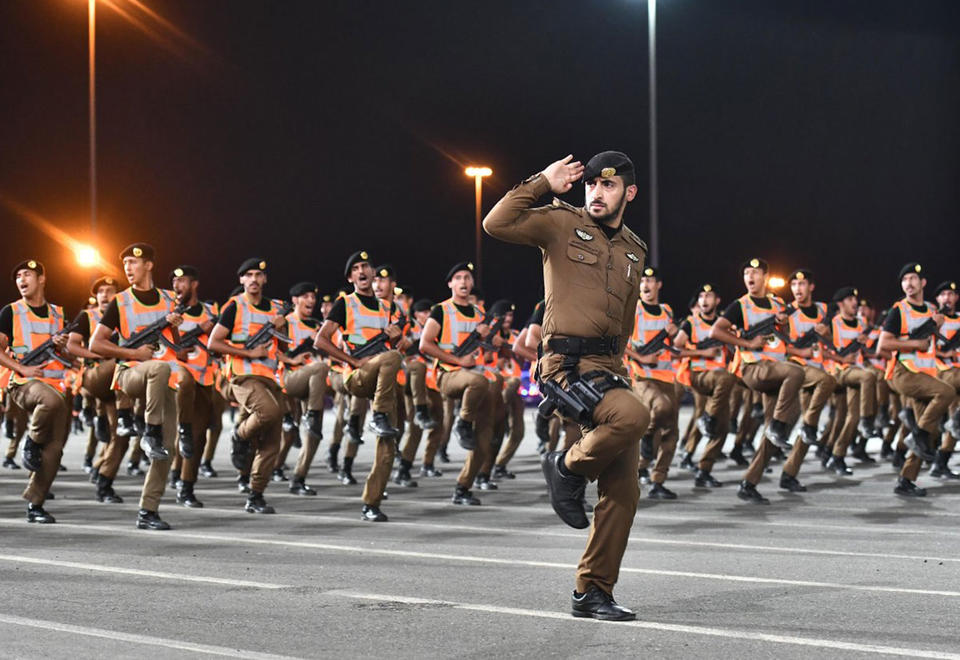Gallery: Saudi holds parade of hajj security forces