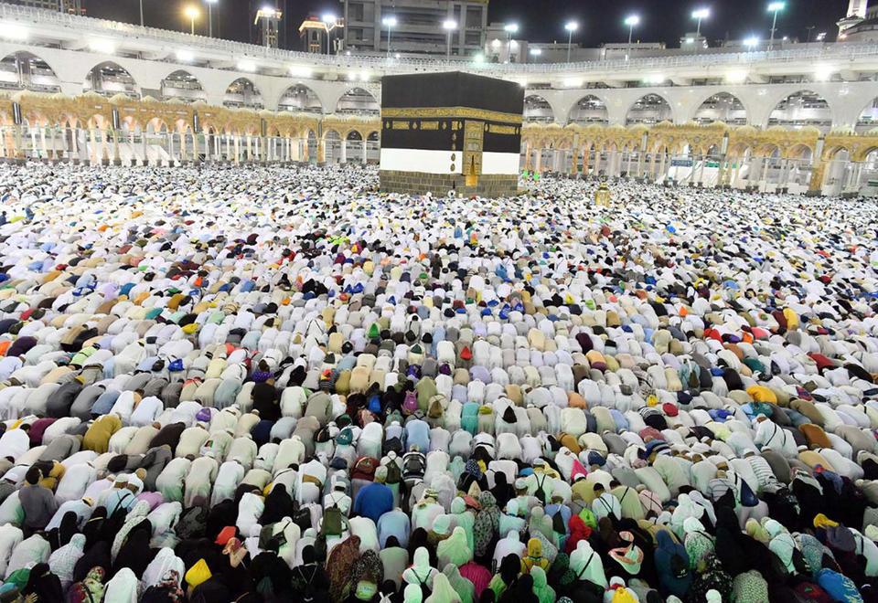 More than two million Muslims begin Saudi hajj pilgrimage