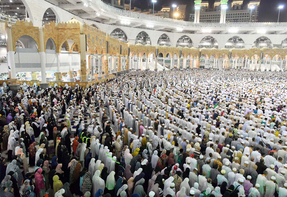 Gallery: Pilgrims arrived in the Islamic holy city of Makkah for Hajj rituals