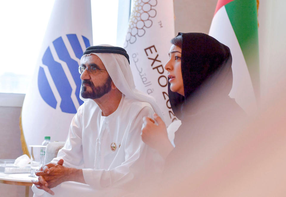 Gallery: Dubai ruler Sheikh Mohammed visits Expo 2020 site