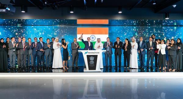 Indian envoy rings Nasdaq Dubai bell amid $60bn trade links