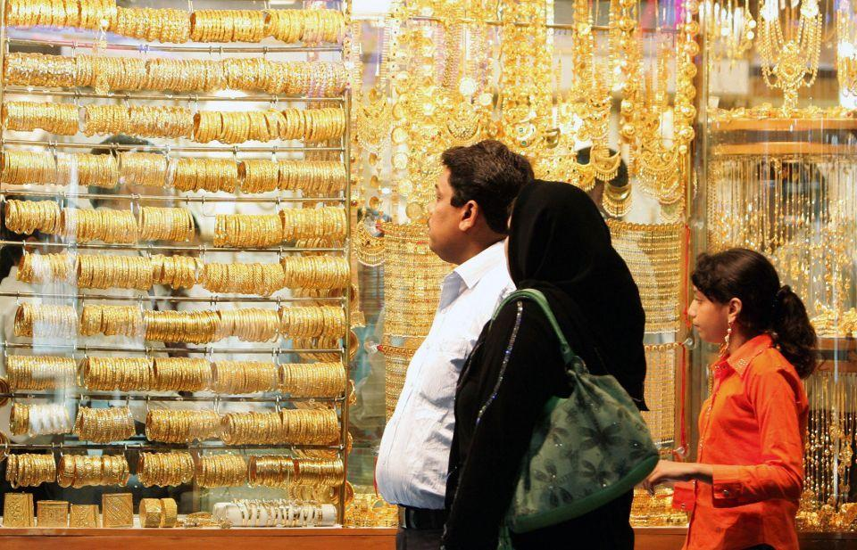 Gold prices dip in Dubai on back of strengthened US dollar