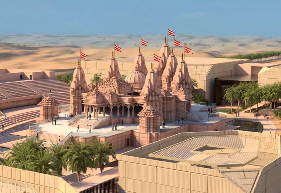 Indian PM Modi may visit Abu Dhabi temple