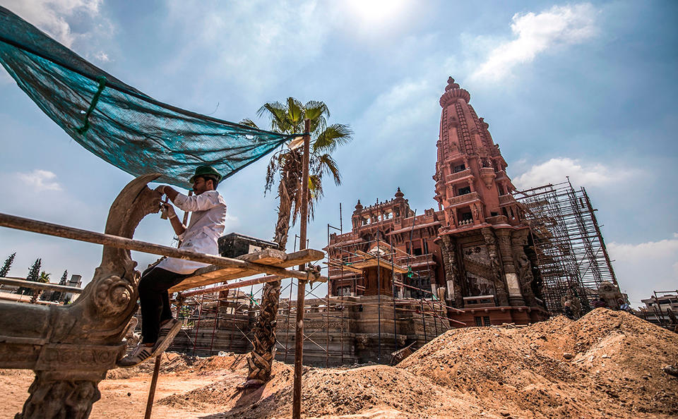 Gallery: Historic Cairo's Baron Palace set to open its doors to the public by early 2020