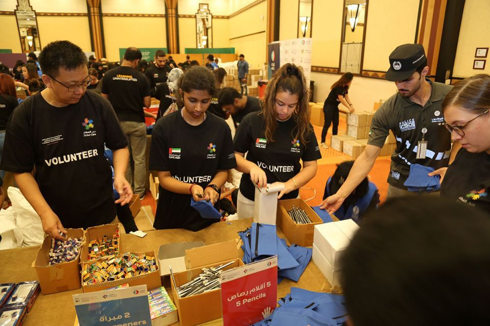 UAE kids kitted out for school thanks to Dubai Cares