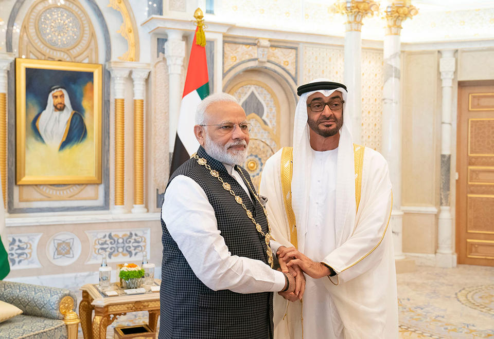 Gallery: Narendra Modi honoured with the 'Order of Zayed' in Abu Dhabi