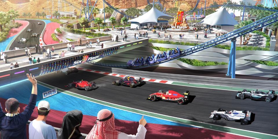 Saudi Arabia's Six Flags Qiddiya to feature world's fastest roller coaster