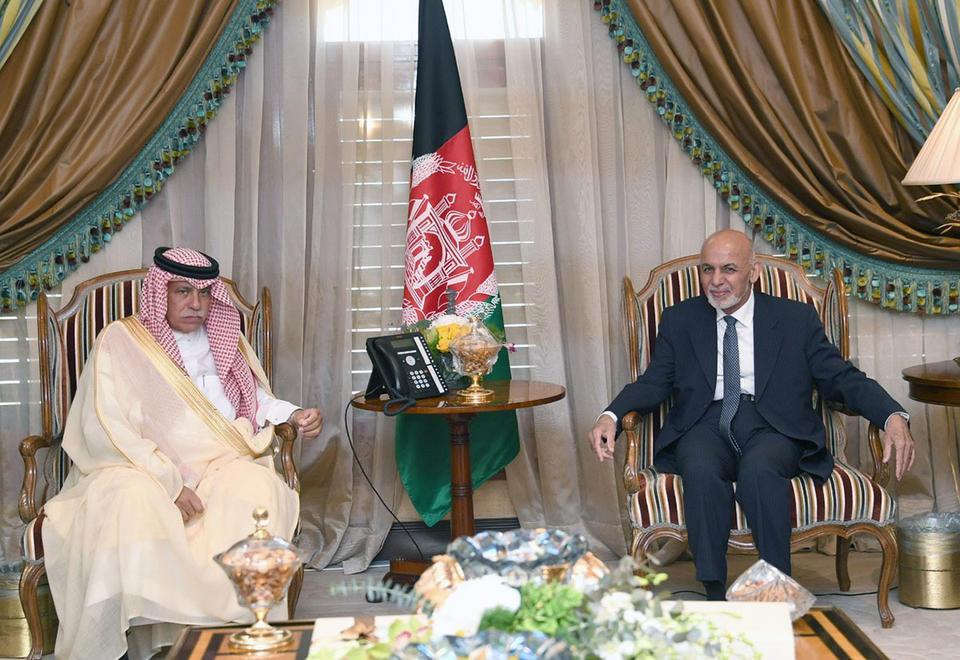 Gallery: King Salman hosts Afghan President Ashraf Ghani