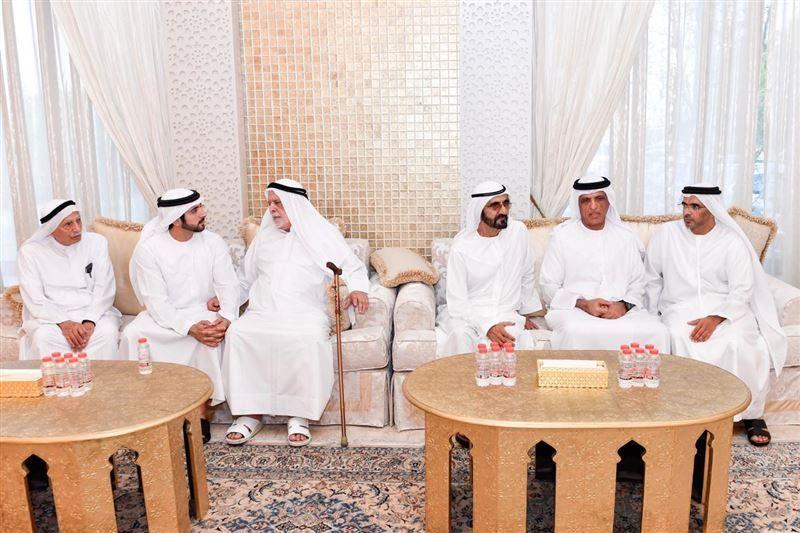 Dubai ruler offers condolences on death of Saif Al Ghurair