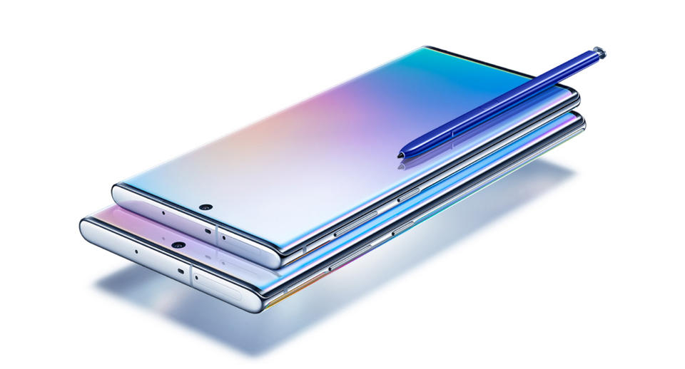 Gallery: Samsung's new Galaxy Note10 and Note10 Plus