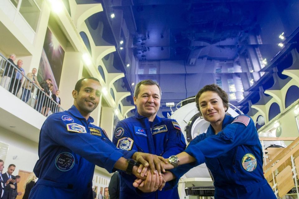 First Emirati astronaut to start final test ahead of ISS blast-off