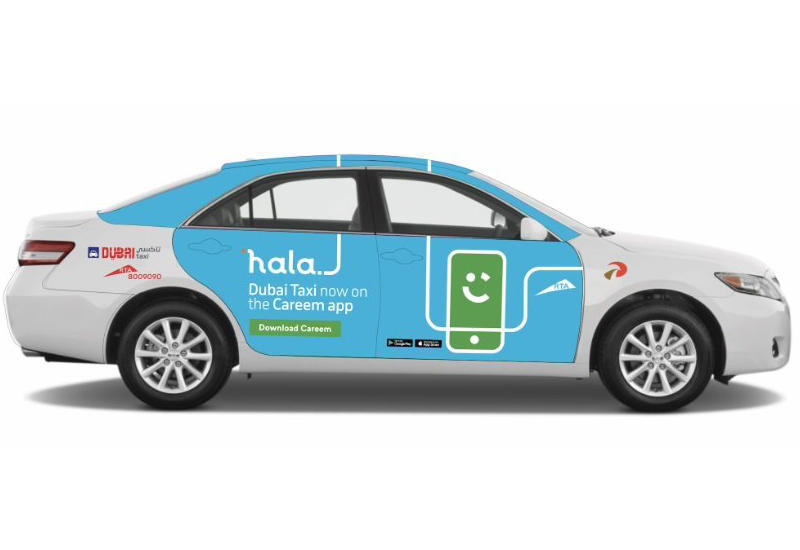 Dubai's Careem eyes new markets for Hala taxi JV
