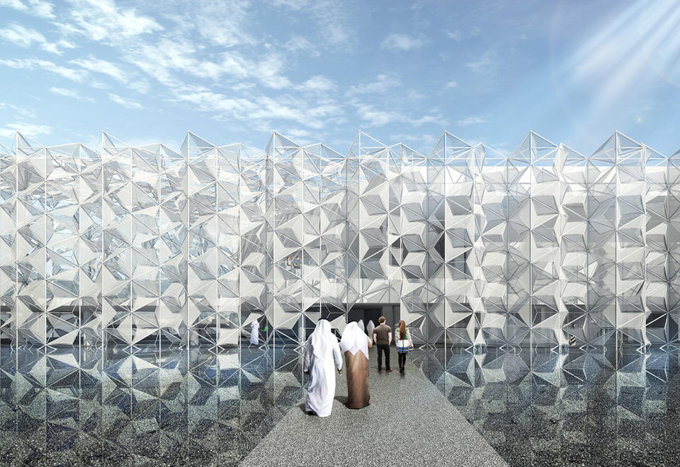 Gallery: Japan's Dubai Expo 2020 pavilion