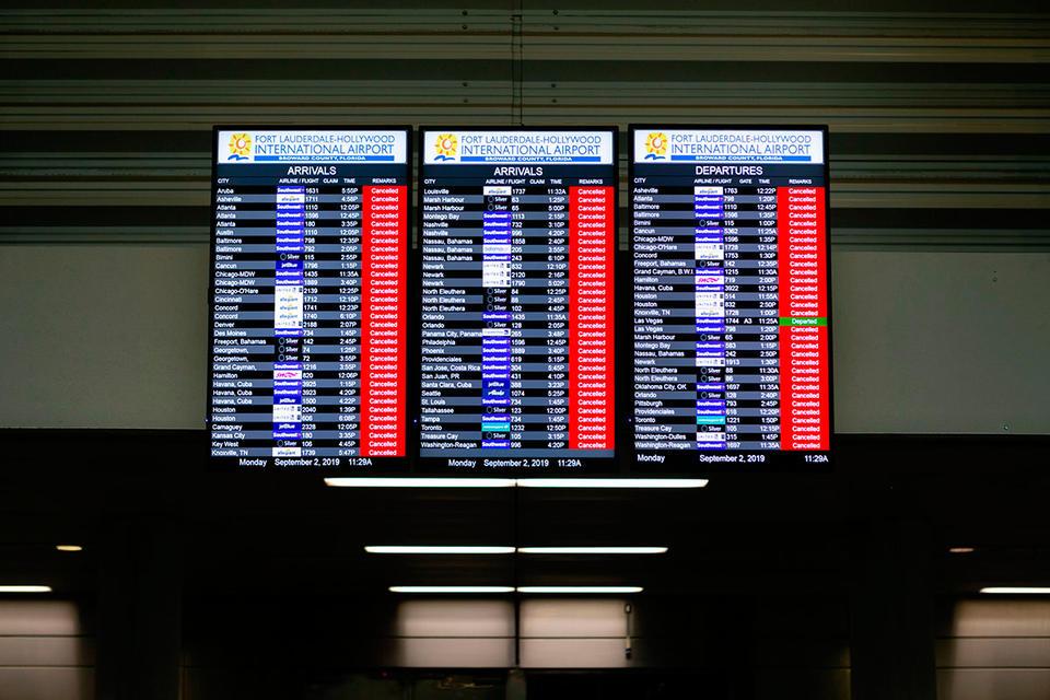Emirates airline cancels more Florida flights ahead of Hurricane Dorian