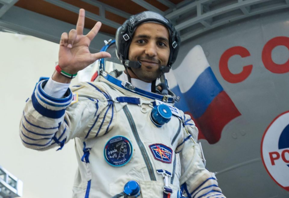 What Hazzaa Al Mansoori did on day one in the ISS