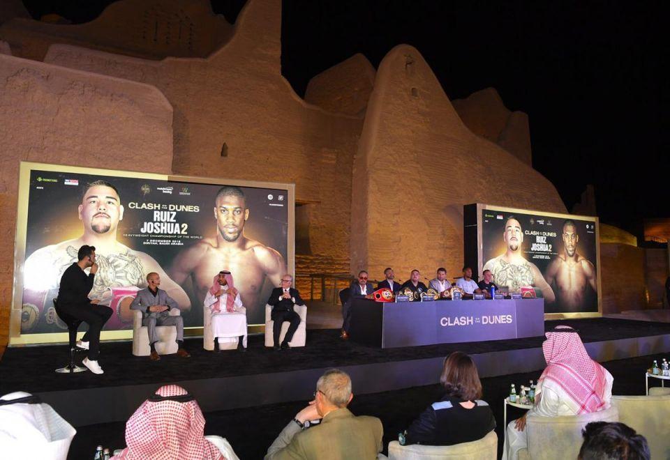 'Two warriors will go war' in Saudi Arabia, says British fighter Anthony Joshua