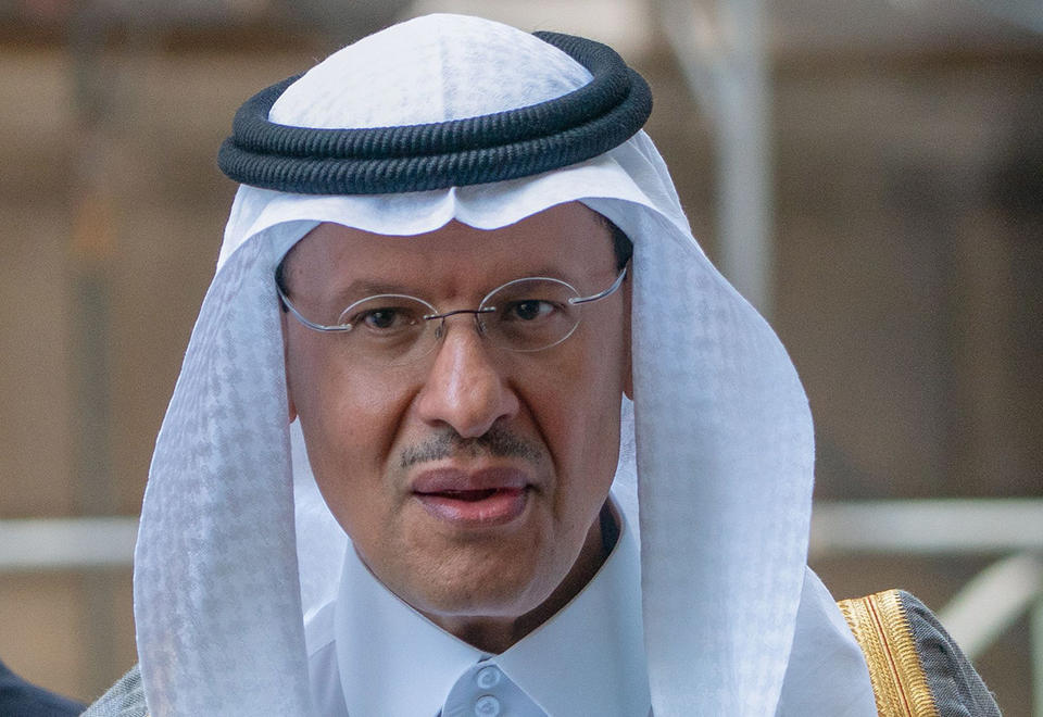 New Saudi minister jokes oil outlook could drive him to Prozac