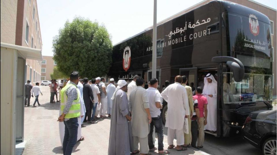 Mobile court resolves labour dispute in Abu Dhabi