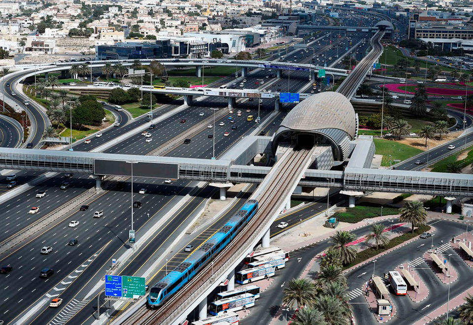 Friday hours to change on Dubai Metro's red line for Route 2020 work