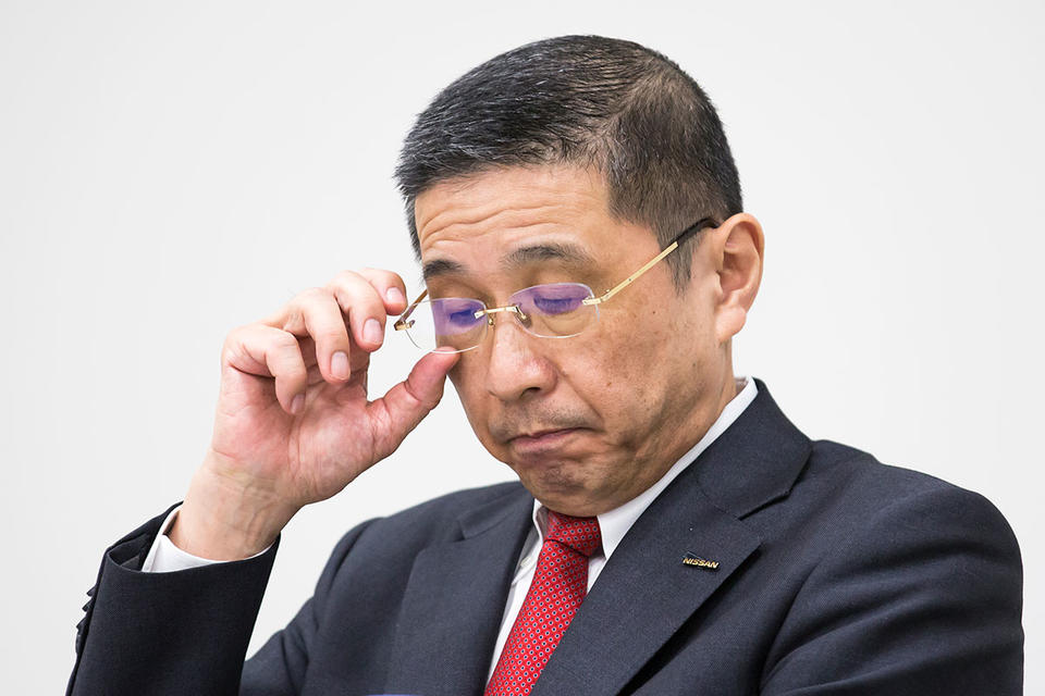 Crisis-hit Nissan CEO set to resign as board meets