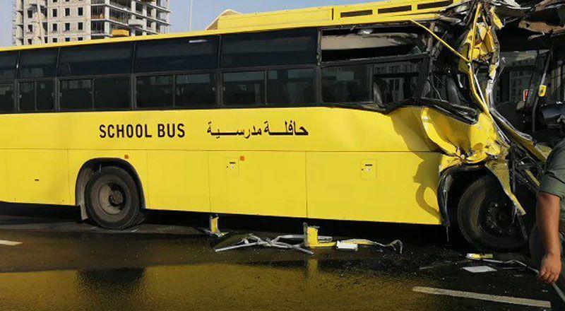 15 students injured in Dubai school bus accident