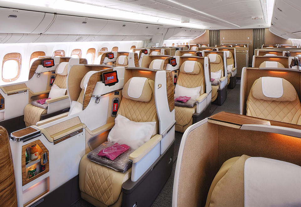 Emirates airline plans to launch new business class seats