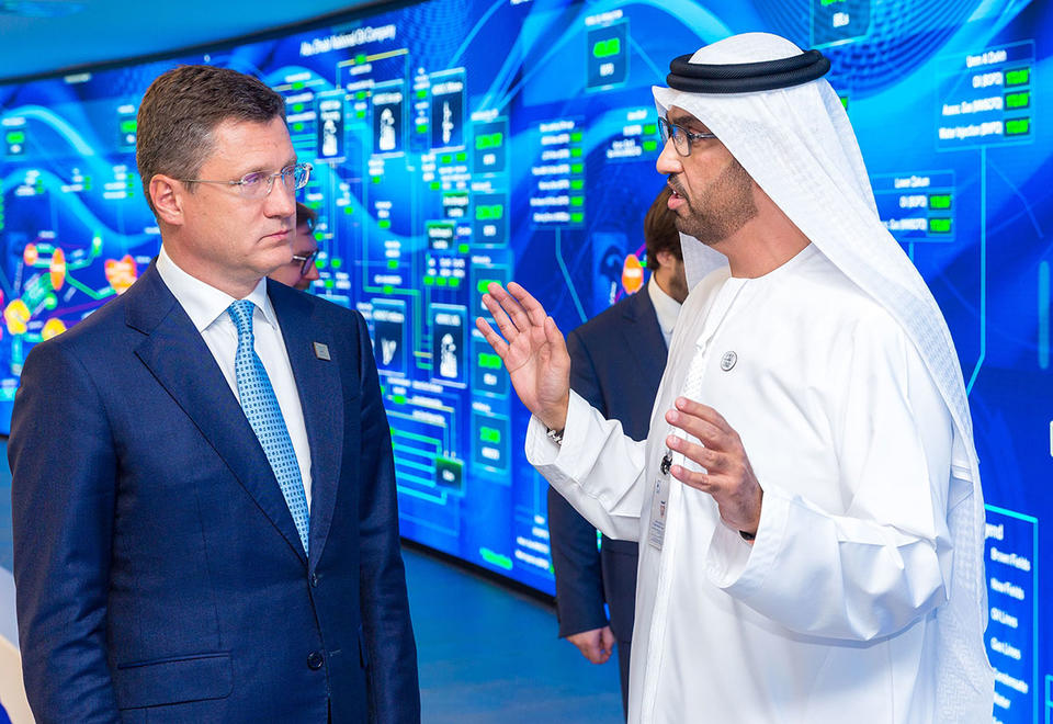 Adnoc looks to strengthen Russian partnership