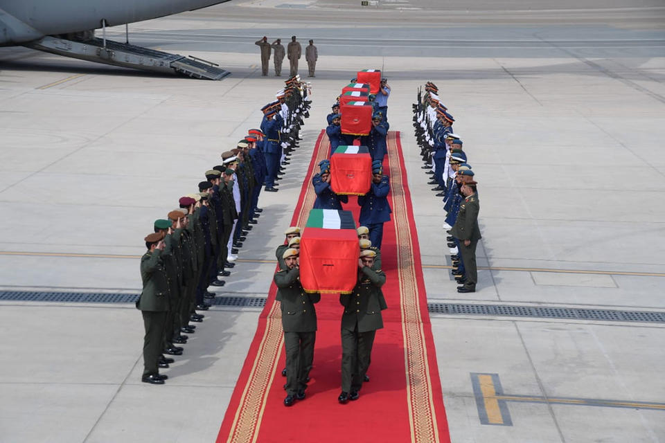 UAE armed forces chief offers condolences to martyrs' families