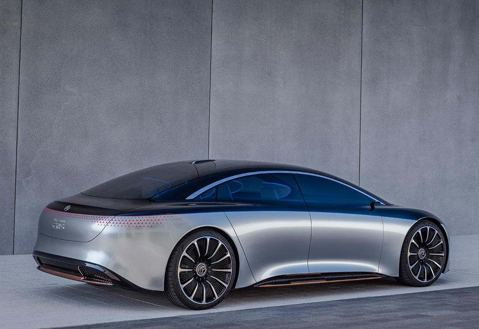 Gallery: Mercedes-Benz Vision EQS electric luxury show car