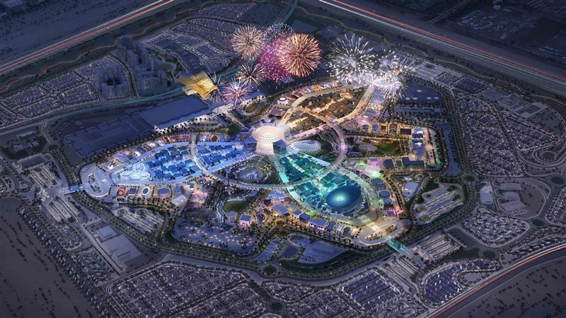 Expo 2020 Dubai site hits major construction milestone