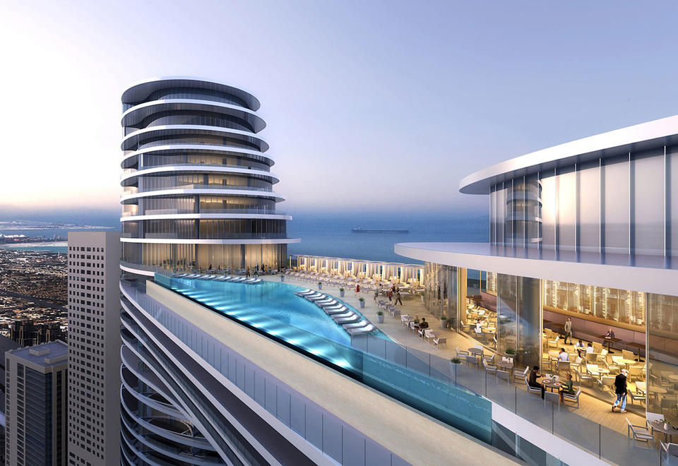 Opening of Address Sky View Hotel in Dubai delayed