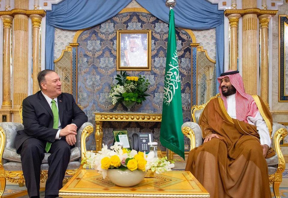 Gallery: Pompeo meets Saudi Arabia Crown Prince