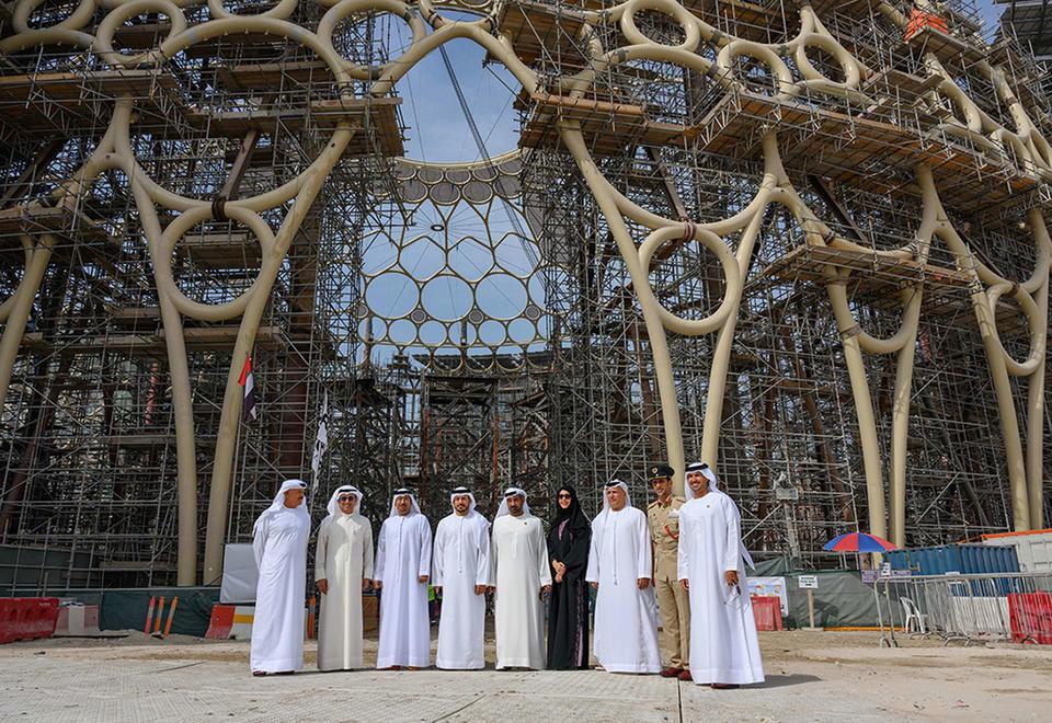 Gallery: Expo 2020 Dubai's massive Al Wasl dome set into place