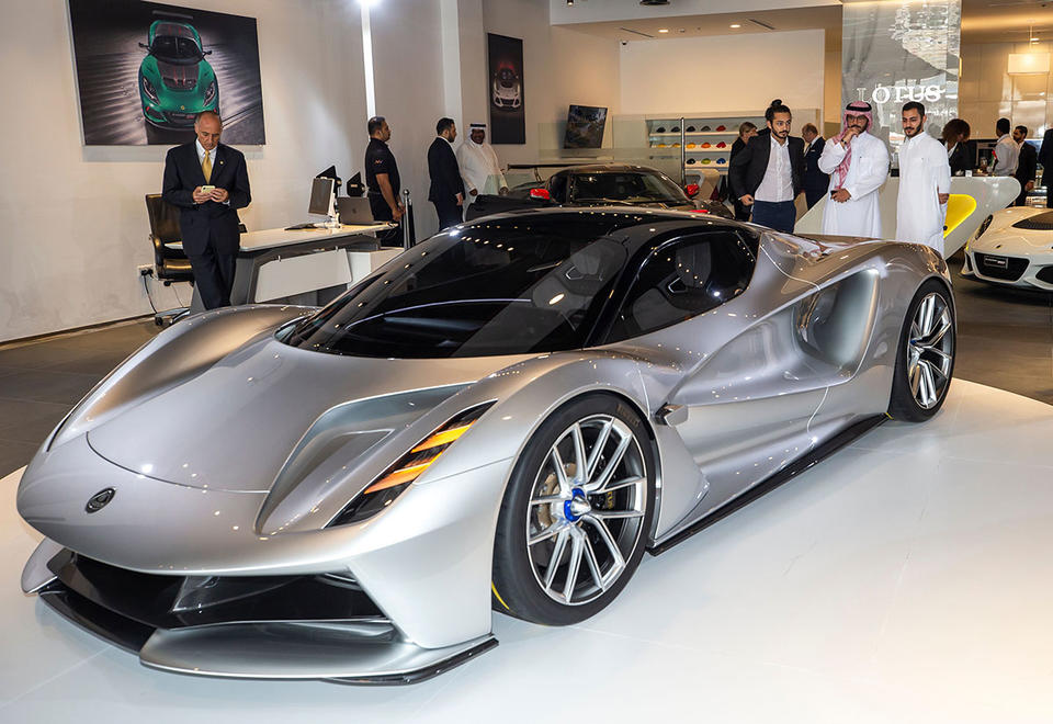 Gallery: Lotus Evija hypercar debuts in the UAE
