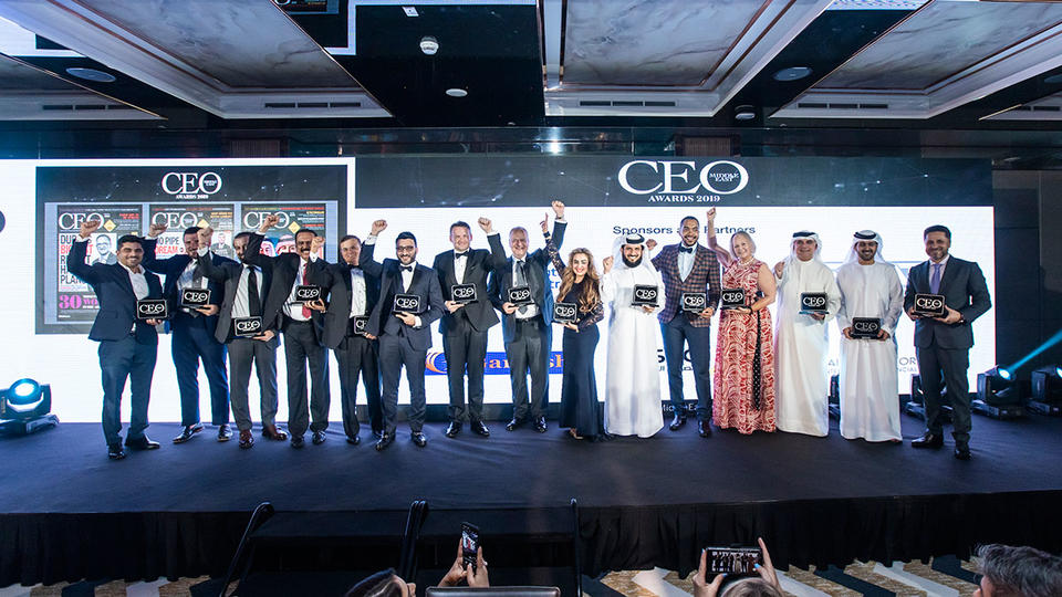 Al Ahli Bank of Kuwait CEO, Aster DM Healthcare founder, take top honours at the CEO Middle East Awards 2019