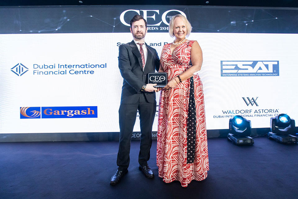 Gallery: Winners of the CEO Middle East Awards 2019